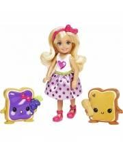 Кукла Dreamtopia Челси и сладости Mattel