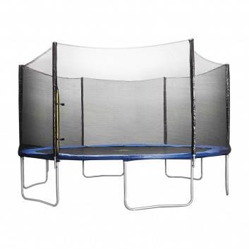 Спорт и отдых, Батут Trampoline Fitness с сеткой 427 см DFC 227343, фото