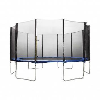 Спорт и отдых, Батут Trampoline Fitness с сеткой 549 см DFC , фото