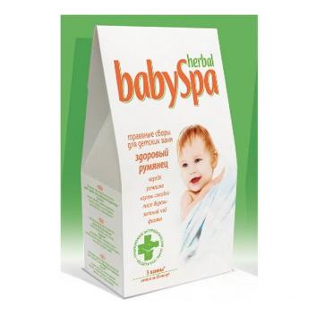 Гигиена, Травяной сбор Здоровый румянец Herbal Baby Spa 627442, фото
