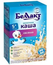 Каша молочная овсяная 200 г Беллакт