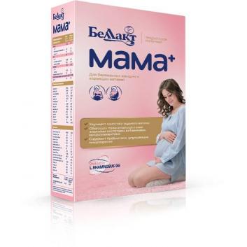 Питание, Сухая молочная смесь МАМА+ 400 г Беллакт , фото
