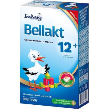 Питание, Напиток Bellakt 12+ 350 г Беллакт 227775, фото