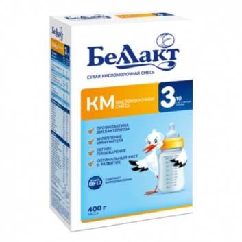 Питание, Сухая молочная смесь КМ-3 400 г Беллакт 227783, фото