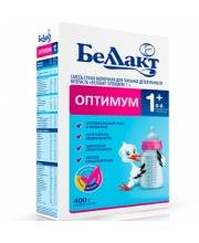 Сухая молочная смесь оптимум 1+  350 г Беллакт