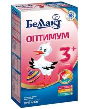 Сухая молочная смесь оптимум 3+  400 г Беллакт