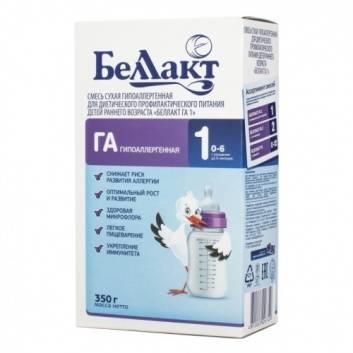 Питание, Сухая молочная смесь ГА 1+ с 0 до 6 мес 350 г Беллакт , фото