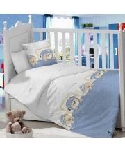 Комплект в кроватку 7 пр Малыш Луняшки