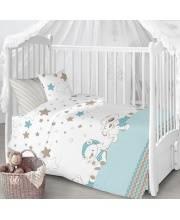 Комплект в кроватку 7 пр Под звёздами Луняшки