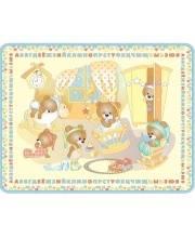 Детский развивающий коврик Медвежата Mambobaby