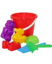 Б/П Набор детский для игры с песком Зоопарк №2 Альтернатива