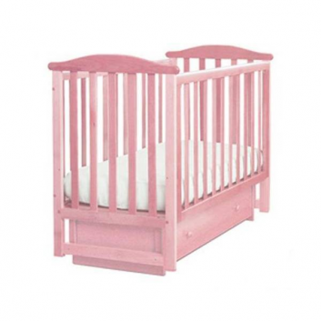 Кроватка  Лель Лютик розовая