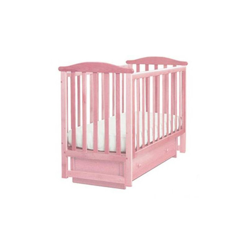 Кубаньлесстрой Кроватка Лель Лютик розовая