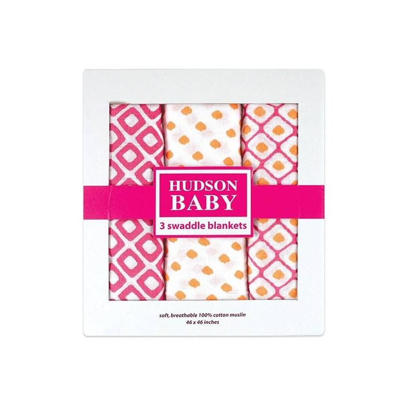 HUDSON BABY Пеленки Графические узоры 116х116 см hudson baby детская