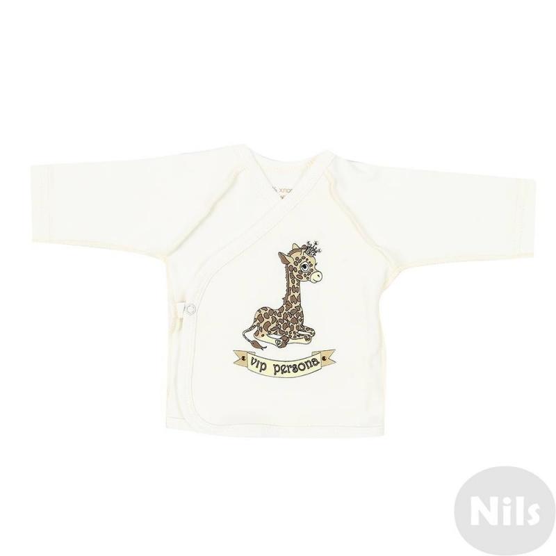 КофточкаКофточкамолочногоцвета марки Милушадля малышей.Кофточка выполнена из стопроцентного хлопка швами наружу, украшена милым принтом с изображением жирафа. Принт декорирован стразами. Застегивается кофточка на одну кнопку сбоку.<br><br>Размер: 3 месяца<br>Цвет: Бежевый<br>Рост: 62<br>Пол: Для девочки<br>Артикул: 628016<br>Страна производитель: Россия<br>Сезон: Всесезонный<br>Состав: 100% Хлопок<br>Бренд: Россия