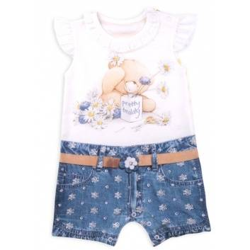 Малыши, Песочник Fashion Jeans Папитто (синий)238398, фото