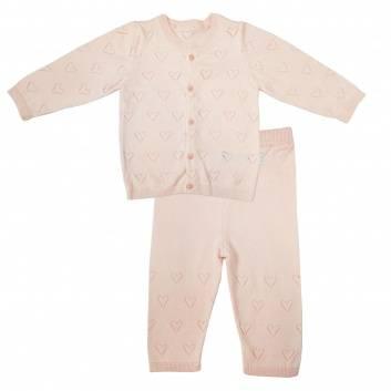 Малыши, Комплект Сердечки 2 предмета Папитто (розовый)238782, фото