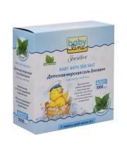 Детская морская соль для ванн с крапивой 1000 гр Babyline