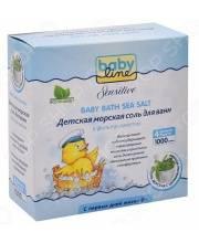 Детская морская соль для ванн с целебными травами 1000 гр Babyline