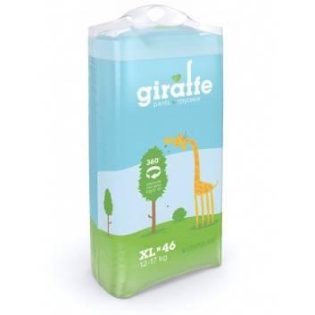 Гигиена, Трусики-подгузники GIRAFFE XL 12-17 кг 46 шт Lovular 228034, фото