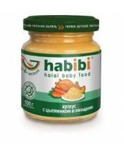 Пюре Кускус с цыпленком и овощами 100 гр HABIBI