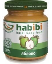 Пюре Яблоко без сахара 100 гр HABIBI
