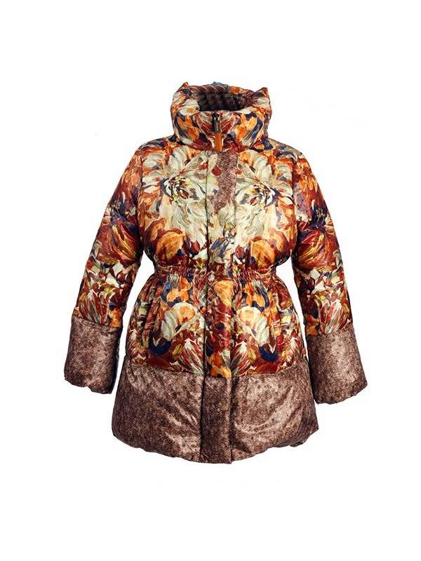 Пальто Jums (коричневый)
