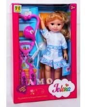 Кукла Jelena медсестра с аксессуарами S+S Toys