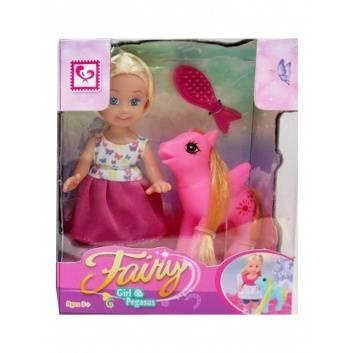 Игрушки, Кукла с лошадкой и аксессуарами S+S Toys 245128, фото