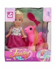 Кукла с лошадкой и аксессуарами S+S Toys