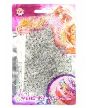 Набор Winx фенечки 200 полосатых резинок в ассортименте 1Toy