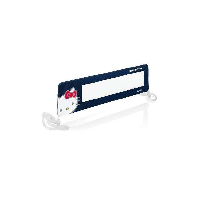 Барьер Hello Kitty 311/023 - Brevi - BreviЗащитный барьер для кровати BreviHello Kitty 311/023<br>Барьер безопасности имеет яркий и симпатичный дизайн Hello Kitty, защитное ограждение надежно крепится практически на любой тип кровати или дивана. Барьер может использоватьсяс первых месяцев жизни ребенка и до тоговремени, пока сохраняется риск, что малыш может упасть с кровати.<br>Шарниры на боковых креплениях позволяют откидывать бортик под углом 180°, это позволит вам застелить кровать или вытащить ребенка, не снимая ограждения. Длина барьера 90см.<br>Вся продукция с маркировкой Brevi соответствует европейскому стандарту безопасности.<br><br>Цвет: Синий<br>Возраст от: 0 месяцев<br>Пол: Для мальчика<br>Артикул: 628256<br>Страна производитель: Италия<br>Бренд: Италия<br>Размер: от 0 месяцев