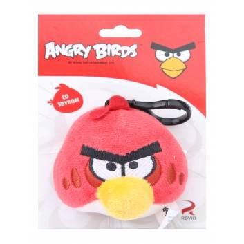 Игрушки, Брелок со звуком Angry Birds PLUSH APPLE 245083, фото
