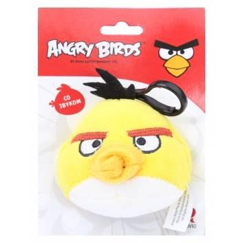 Аксессуары, Брелок со звуком Angry Birds PLUSH APPLE , фото