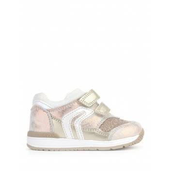 Обувь, Кроссовки B RISHON GIRL GEOX (золотой), фото