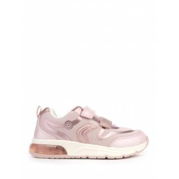 Обувь, Кроссовки J SPACECLUB GIRL GEOX (розовый)234029, фото