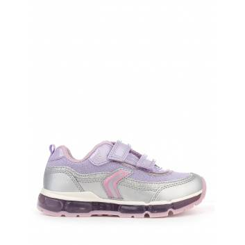 Обувь, Кроссовки J ANDROID GIRL GEOX (сиреневый)234064, фото