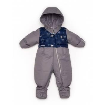 Верхняя одежда, Комбинезон-трансформер Malek-Baby (синий)242001, фото