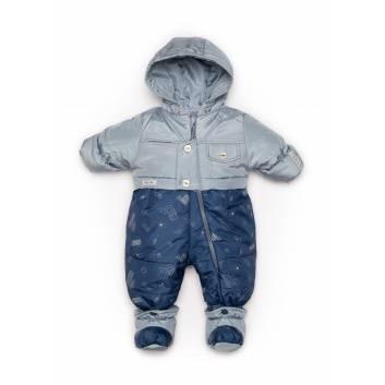 Малыши, Комбинезон-трансформер Malek-Baby (серый)241962, фото