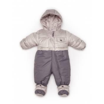 Малыши, Комбинезон-трансформер Malek-Baby (серый)241969, фото