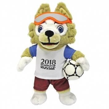 Ликвидация, Волк Забивака 21 см FIFA 2018 536642, фото
