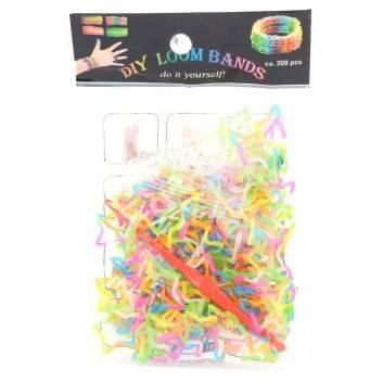 Творчество, Резинки для плетения 200 шт Loom Bands 228960, фото