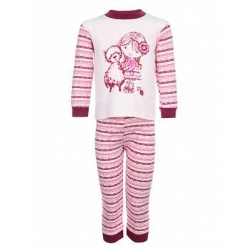 Девочки, Пижама Альпака Лео (розовый)241444, фото