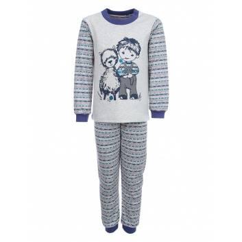 Малыши, Пижама Альпака Лео (синий)241446, фото