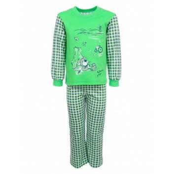 Мальчики, Пижама Лео (зеленый)240903, фото
