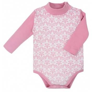 Малыши, Боди-водолазка Мамуляндия (розовый)257916, фото