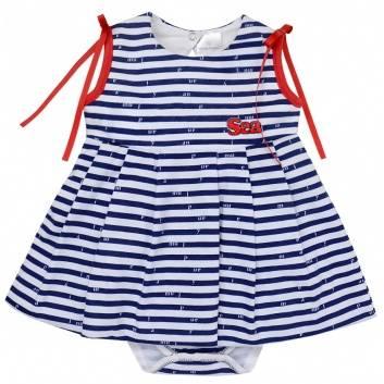 Малыши, Боди-платье Мамуляндия (темносиний)240014, фото