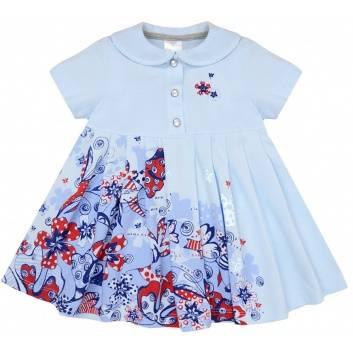 Малыши, Платье Мамуляндия (голубой)240025, фото