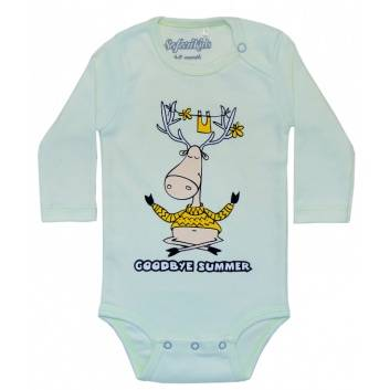 Малыши, Боди Goodbyu Summer Safari Kids (салатовый)242226, фото