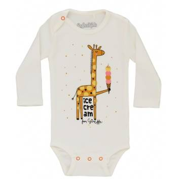 Малыши, Боди Giraffe Safari Kids (бежевый)242231, фото